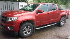 new colorado after side bars
