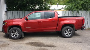 new colorado before side bars